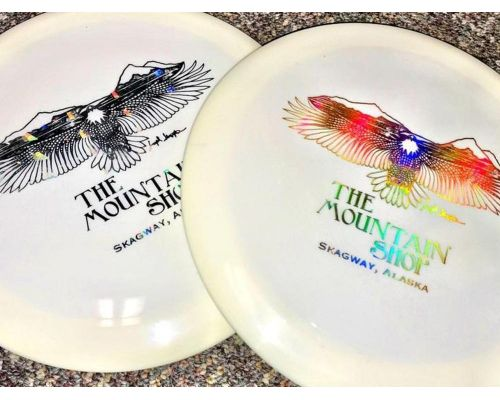 Westside Disc Golf Disc With Mountain Shop Logo