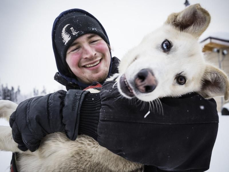 It's All About Trust Between Musher And Dogs For Riley Dyche