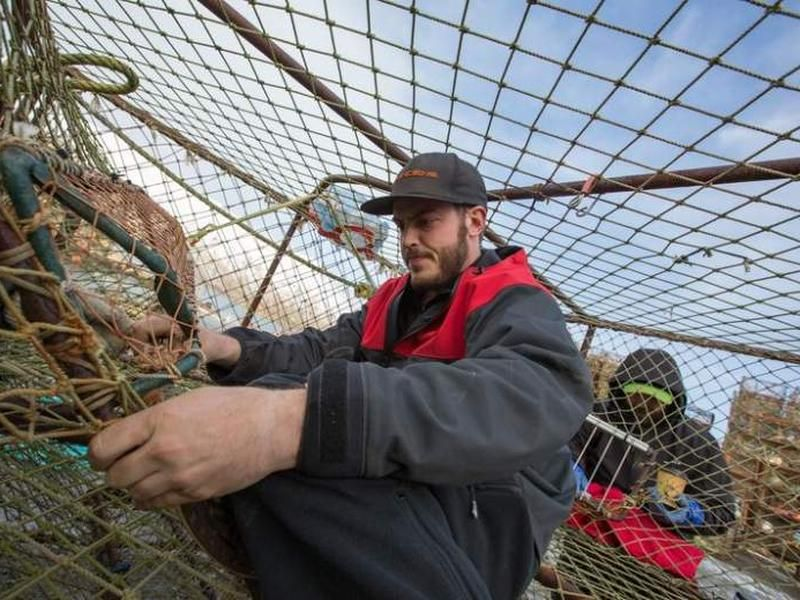 Sean Dwyer Rides The Waves Of The Bering Sea In Search Of Crabs