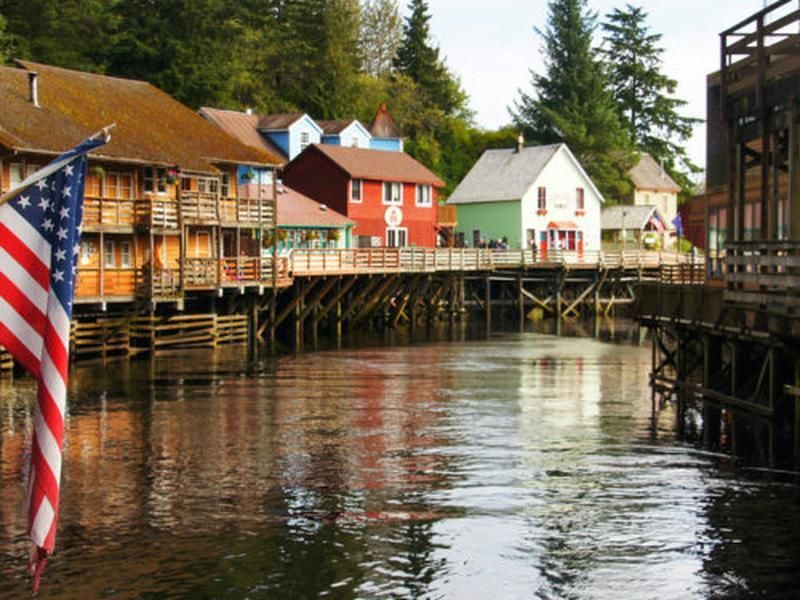 Ketchikan's Creek Street Has A Storied Past, Thriving Present and A Bright Future
