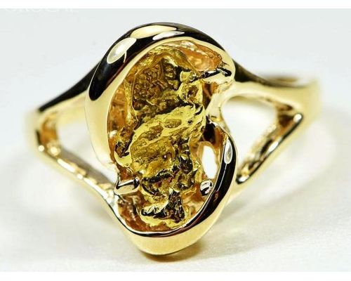 Orocal Large Gold Nugget Women's Ring