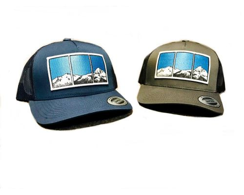 Harding Glacier Fitted Trucker Hat