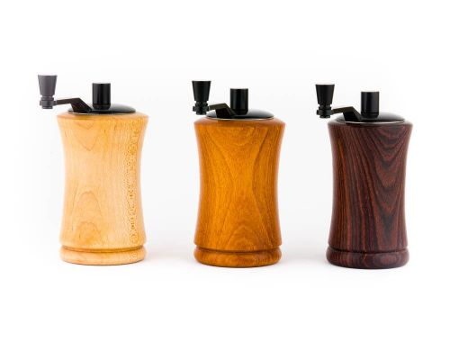 Handmade Wood Salt & Pepper Grinders